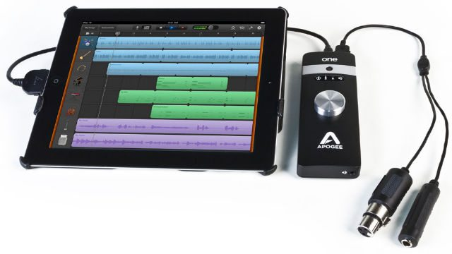 Apogee ONE for iPad and Mac review   AudioNewsRoom - ANR