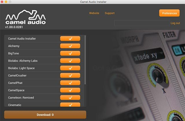 camelaudio_installer