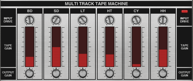 The Multi Track Tape Machine
