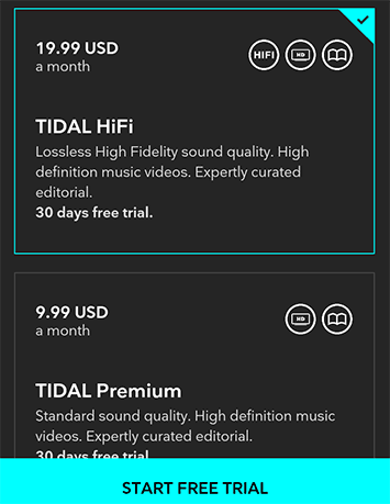 tidal vs spotify sound quality