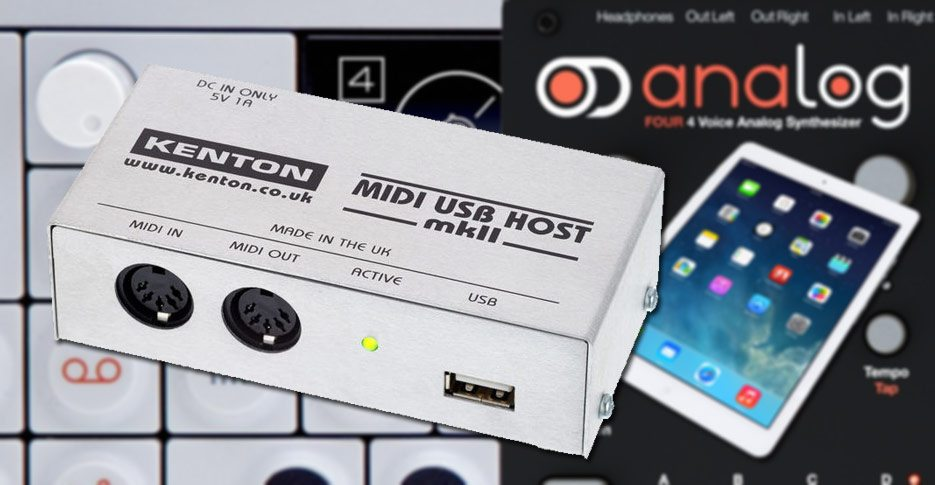 kenton-usb-midi-host
