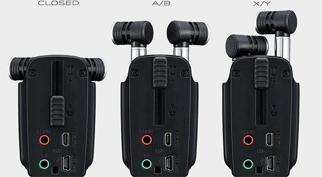 zoom-q4n-mics