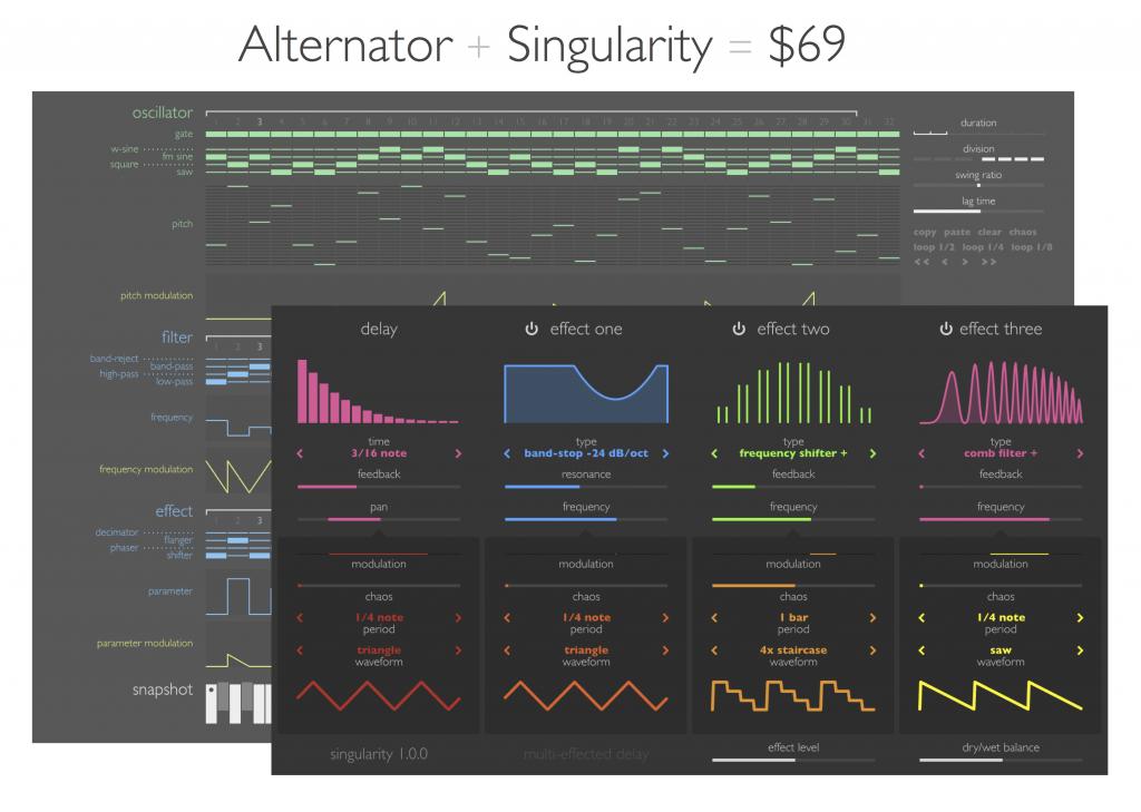Alternator + Singularity
