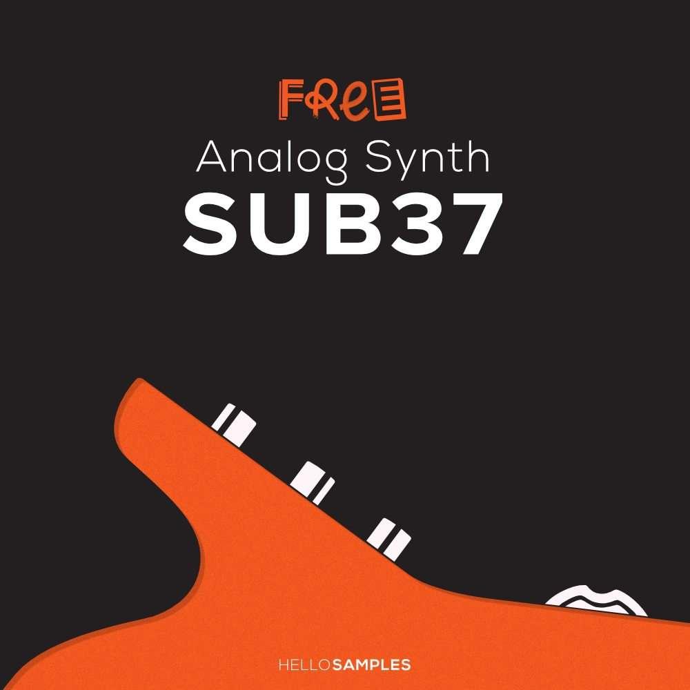 Free Moog Sub-37 Samples! | AudioNewsRoom - ANR