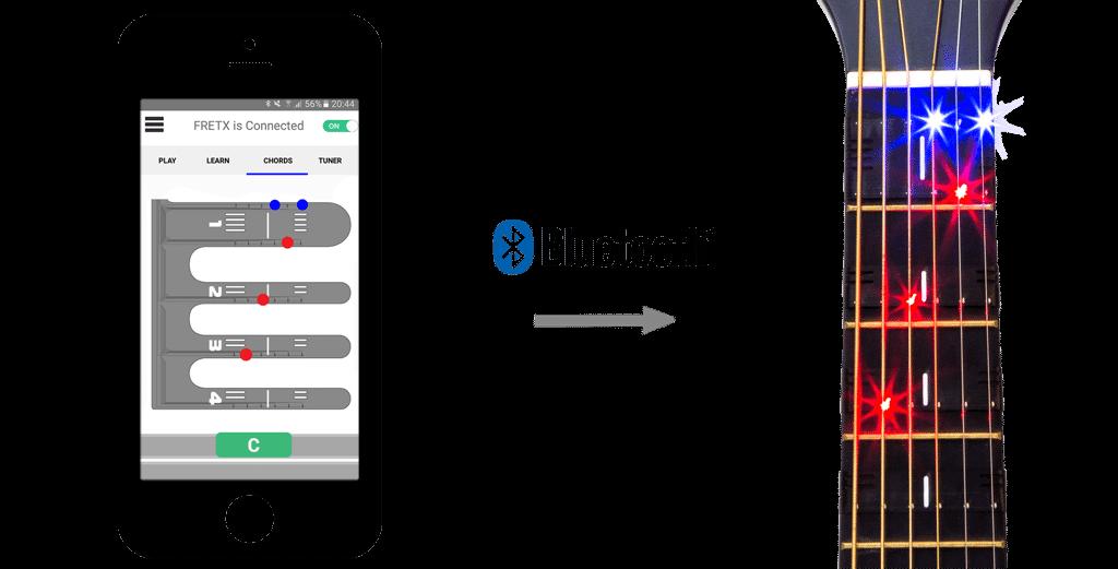 FretX Applink mobile app