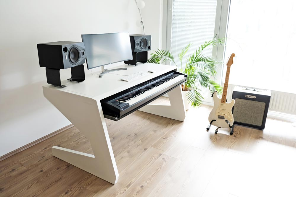 key 88 new quality studio workstation for keyboard players by unterlass audionewsroom anr. Black Bedroom Furniture Sets. Home Design Ideas