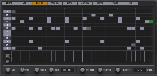 10 Drum Sequencer