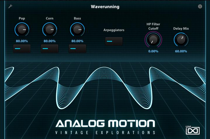 BB UVI Analog Motion UI