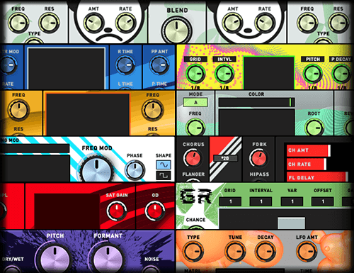 Dope Matrix MOD SQUAD – Modular Devices for Ableton & M4L from Sonic