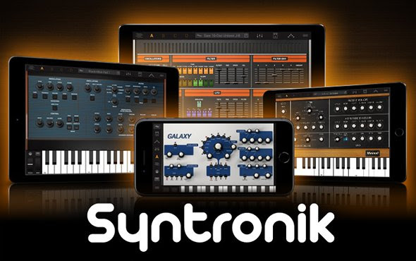 Syntronik 1 1 For iPhone and iPad Adds Audio Units Compatibility