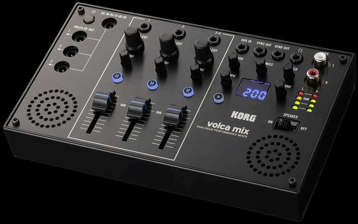 Korg Volca Mixer NAMM 2018