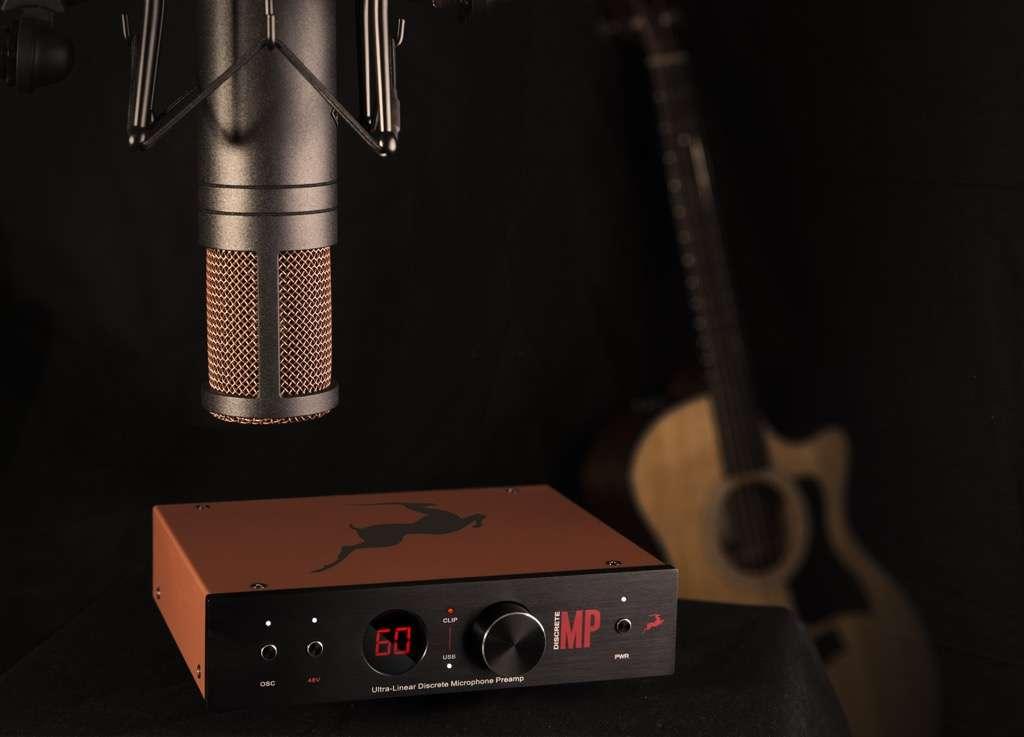 Antelope Audio EDGE Strip – Dual Mic Preamp With 1 Edge Modeling Mic