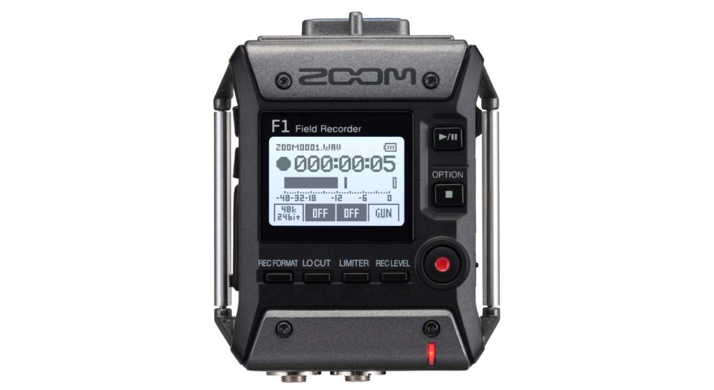 Zoom F1 front picture
