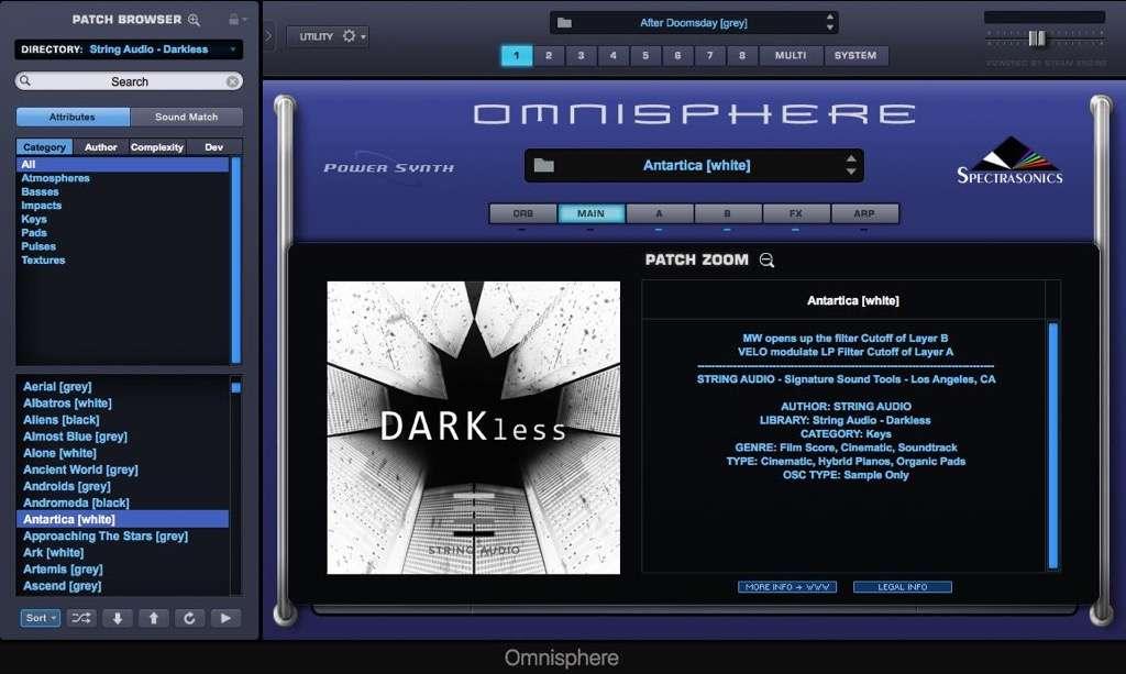 String Audio DARKless Review - An Omnisphere Gem