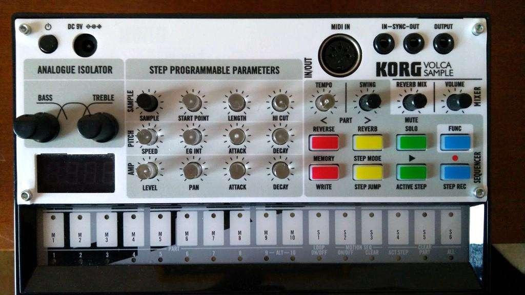 KORG Volca Sample Skin for OK GO edition