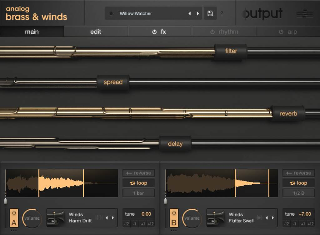 Output - Analog Brass & Winds