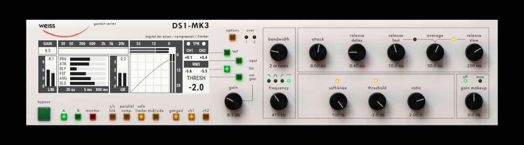 Weiss DS1 plugin