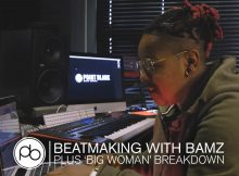 Watch Bamz make a beat on the fly