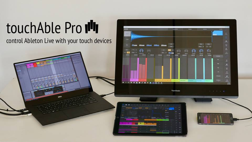 Touchable Pro Review: Touch Control of Ableton Live for iOS, Android