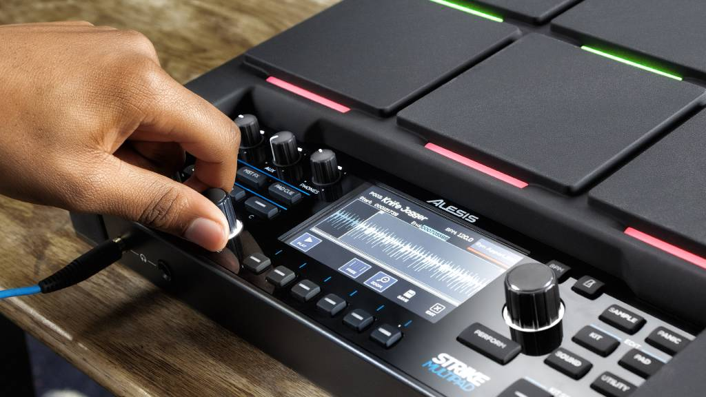 Alesis strike-multipad-sampler detail