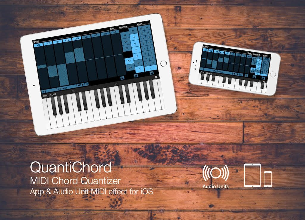 QuantiChord: New MIDI Chord Generator For iOS (+ GIVEAWAY