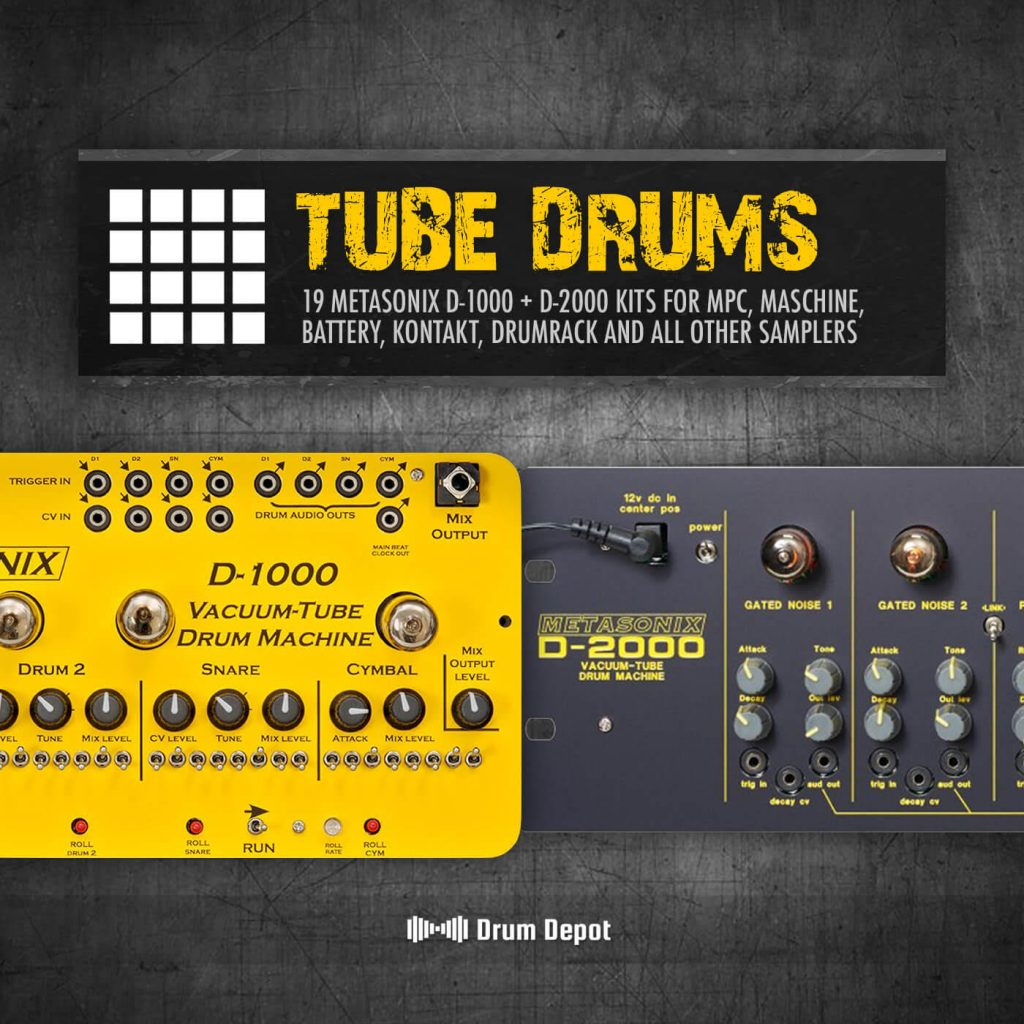 Unique Drum Packs: Tube Drums and FREE Vermona DRM1 from Drum Depot
