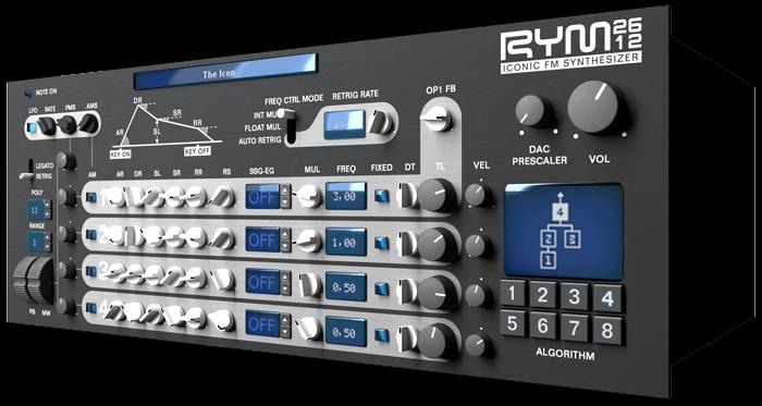 RYM2612 Iconic FM Synthesizer