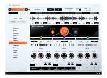 Accusonous Rhythmiq interface closeup