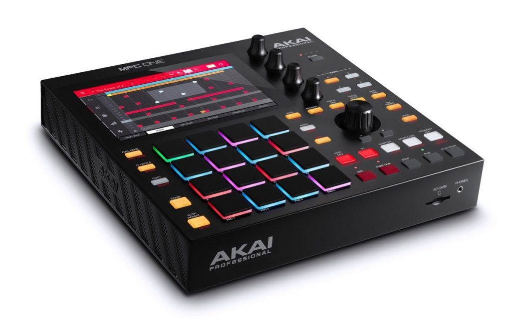 The new standalone MPC from AKAI