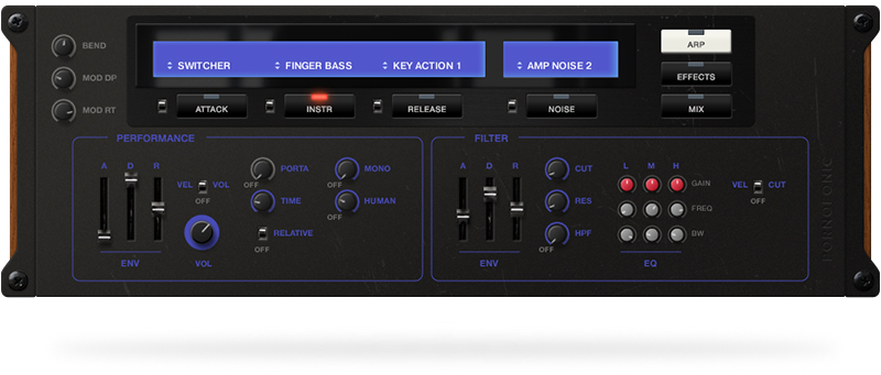 Rootbass is a new sample library for Kontakt