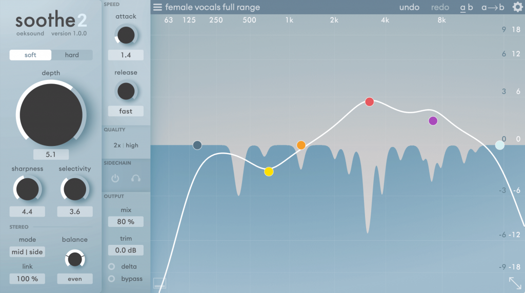 the unique eq plugin from oeksound is back