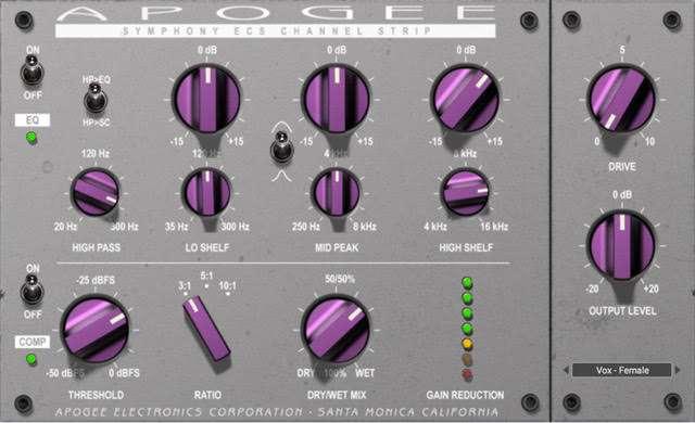 Apogee Symphony ECS Plugin Goes Native